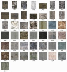 混凝土材质贴图集合