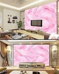 粉色大理石背景墙