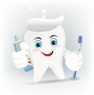 可爱卡通牙齿形象设计
