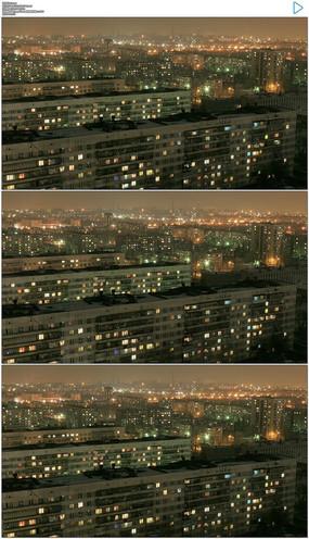 夜晚建筑城市
