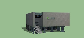 绿色能源展馆模型