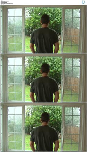 看窗外的男人