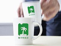 绿色时尚旅游logo