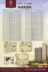 房地产楼盘海报