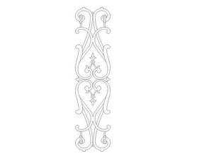 铁艺栏杆花纹