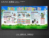 消防安全知识宣传栏展板设计
