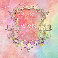 婚礼logo背景