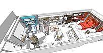 家纺店空间展示设计