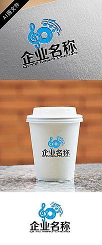 音乐公司logo创意设计