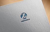 藍色時尚商務公司logo
