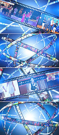 ae公司企业颁奖晚会片头视频模板