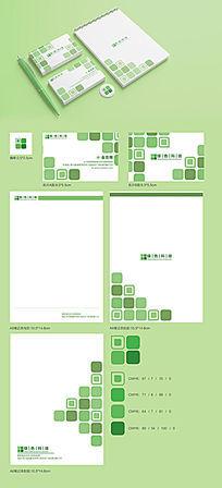 绿色科技企业VI设计