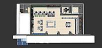 东莞松山湖电信营业厅三维图