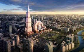 城市标志建筑规划景观