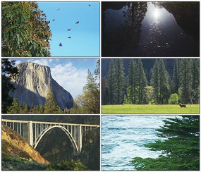 自然山河美景