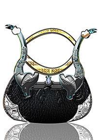 藏族风手拿包tote包设计