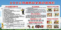 消防安全宣传栏设计