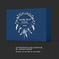 珠宝奢侈品高档印度风包装盒设计