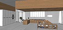 超大厨房模型