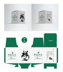 佛道禅生茶叶包装盒设计