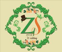 森系logo背景