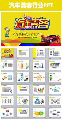 汽车销售汽车维修保养动态PPT