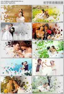 浪漫枫叶婚纱写真电子相册视频