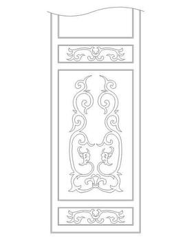 中式花紋圖案