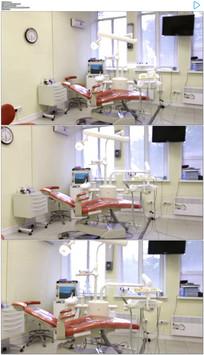牙科诊所实拍视频素材