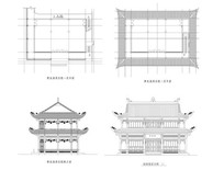 古庙佛堂建筑
