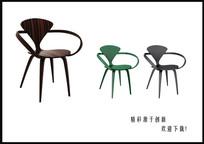 现代椅子3D模型
