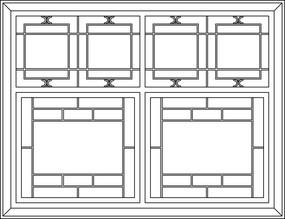 方框特色装饰图案