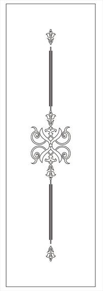 中式门图雕刻图案