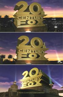 20世纪福克斯电影开场片头高清视频