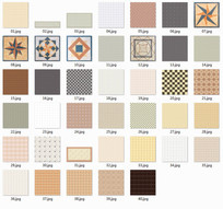 室内瓷砖psd贴图合集