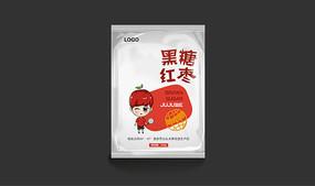 黑糖红枣包装设计