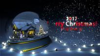2017圣诞节快乐三维展示视频ae模版