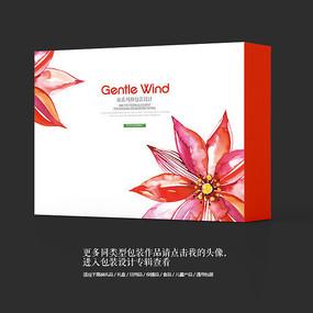 时尚红酒艺术包装盒设计