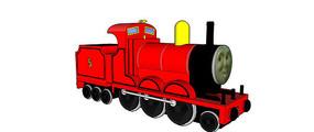 火车头卡通