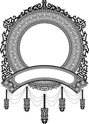 歐式鏤空圖案裝飾