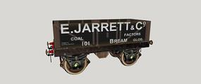 运输火车模型