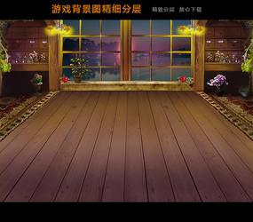 游戏背景图页面设计 PSD