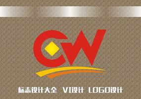 字母标志设计模板