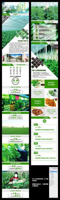 2017年淘宝天猫京东有机蔬菜众筹详情