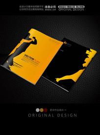 舞蹈学校宣传画册封面