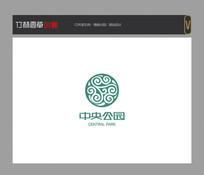 中央公园地产标志设计