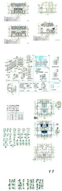 复式建筑楼CAD图