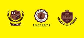 学校标志校徽设计