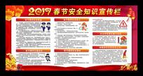 2017新年春节安全宣传栏