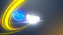 光效logo标题片头ae模版视频模板